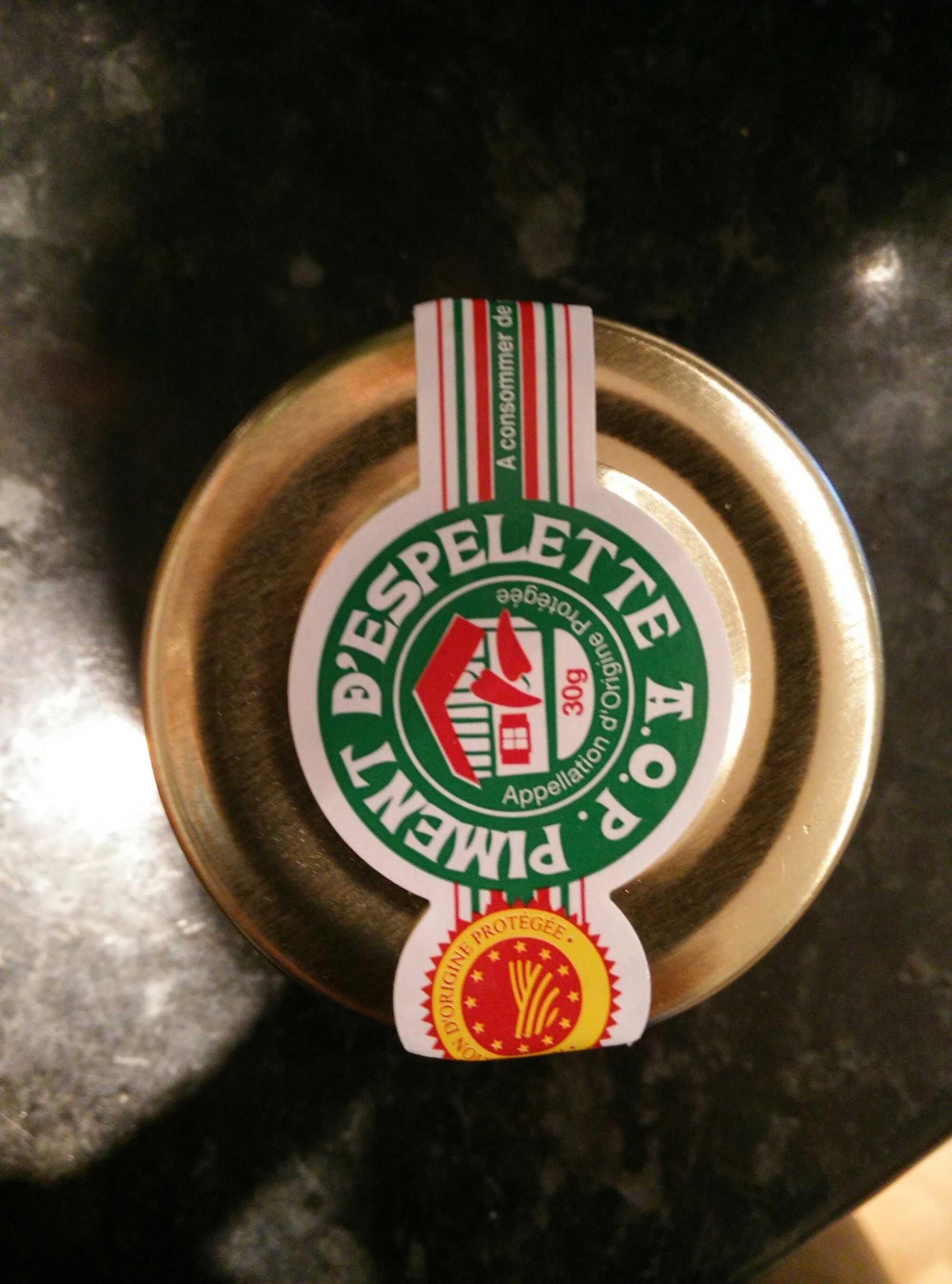 Piment d'Espelette AOP - Product - en