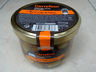 Cocktail, Mélange Olives et lupins - 1