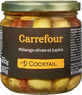 Cocktail, Mélange Olives et lupins - Produit - fr