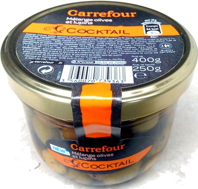 Cocktail, Mélange Olives et lupins - Produit