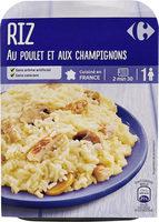Riz au poulet et aux champignons - Produit - fr