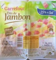 Dés de Jambon (- 25 % de Sel) - Product - fr