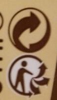 Sirop d'agave - Instruction de recyclage et/ou information d'emballage - fr