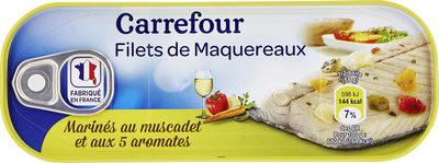 Filets de maquereaux marinés au muscadet et aux 5 aromates - Product