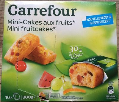 mini cakes aux fruits carrefour 300 g. Black Bedroom Furniture Sets. Home Design Ideas