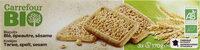 Biscuits blé, épeautre, sésame - نتاج - fr