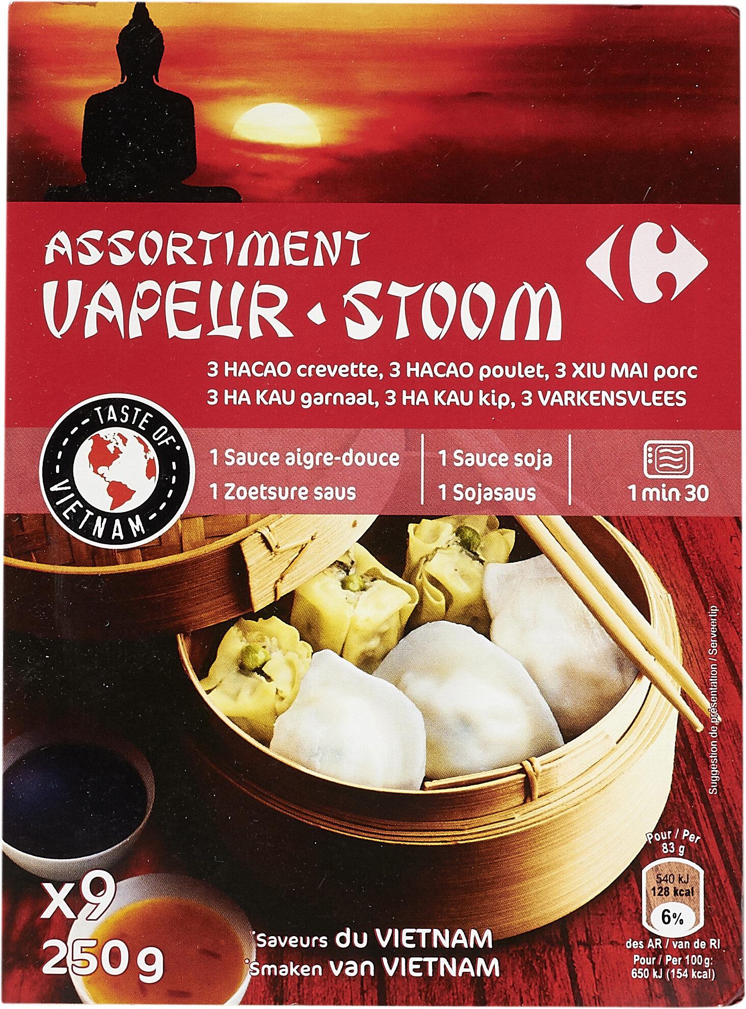 Assortiment Vapeur - Product - fr