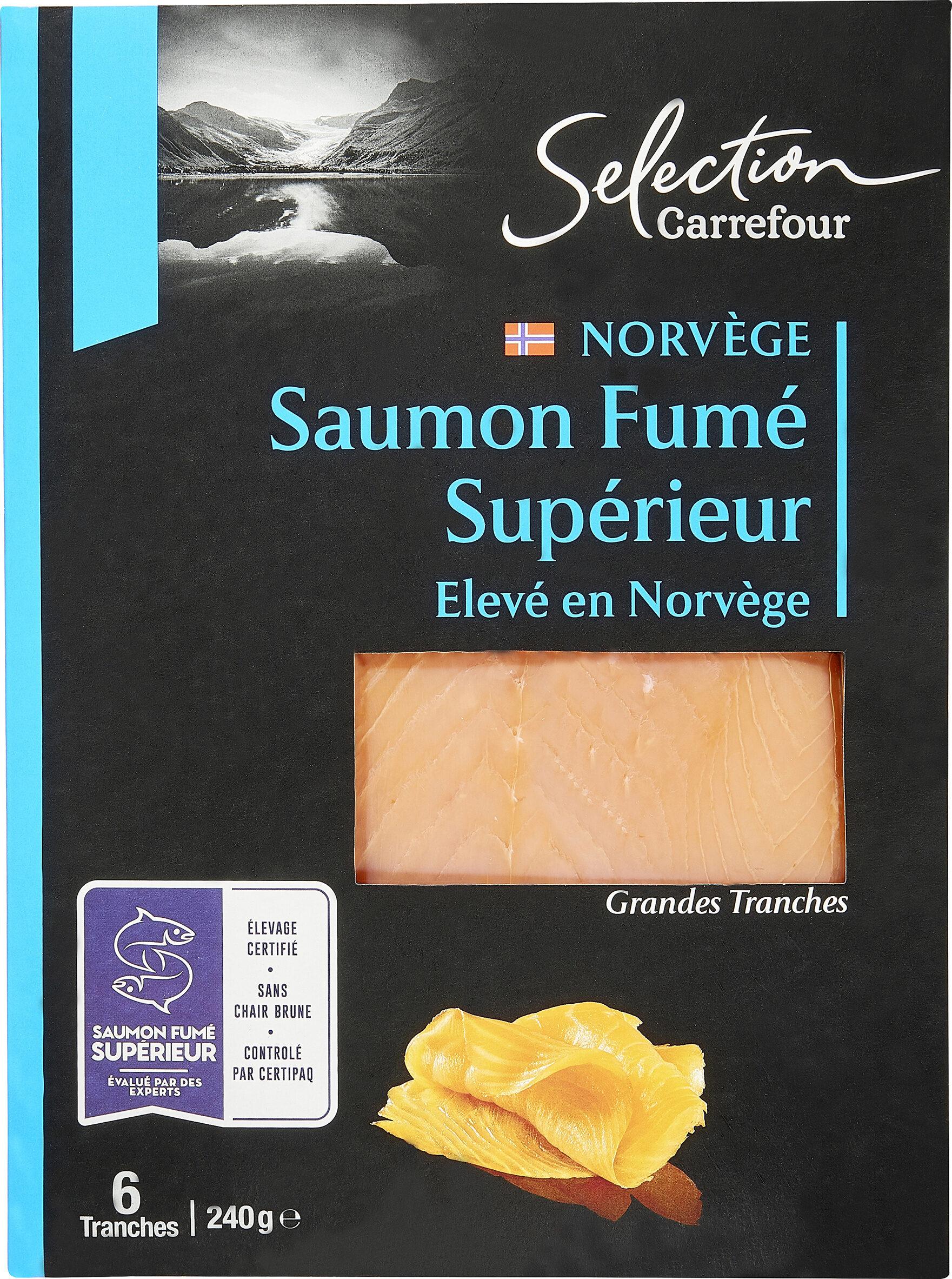 Saumon Fumé Atlantique Élevé en Norvège - Prodotto - fr
