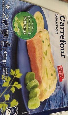 Saumon Sauce Fondue de Poireaux, Surgelé - Product