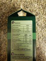 Zumo naranja 100% exprimido - Información nutricional