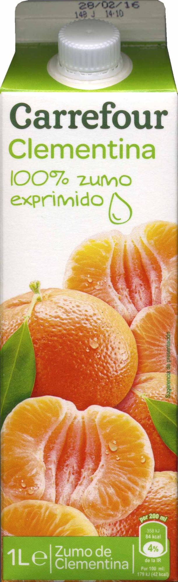 Zumoclementina100% exprimido - Producto - es