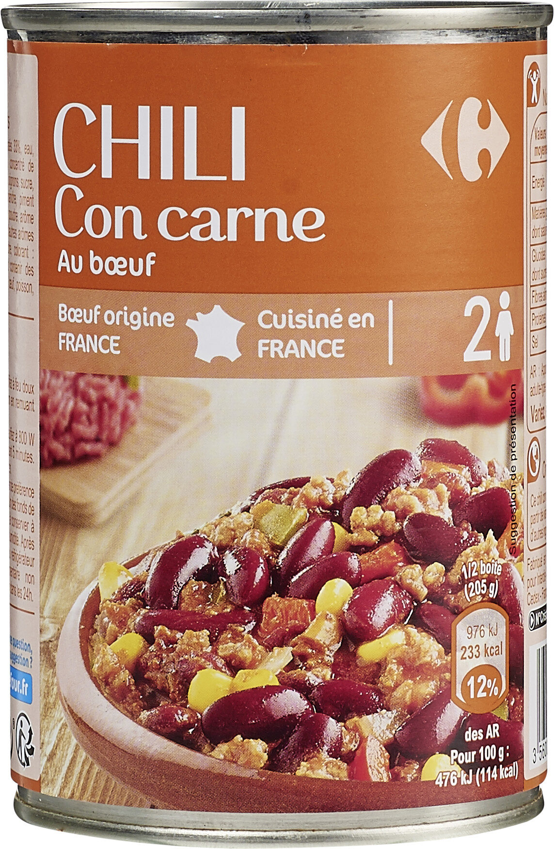 Chili con carne - Product - fr