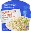 Les Poissons Parmentier de Morue à la Crème Fraîche et au Beurre - Produit