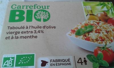 Taboulé à l'huile d'olive vierge extra 3.4% et à la menthe - Product - fr