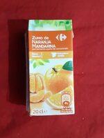 Zumo de Naranja Mandarina - Producto