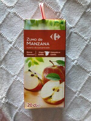 Zumo de manzana  a partir de concentrado - Producte