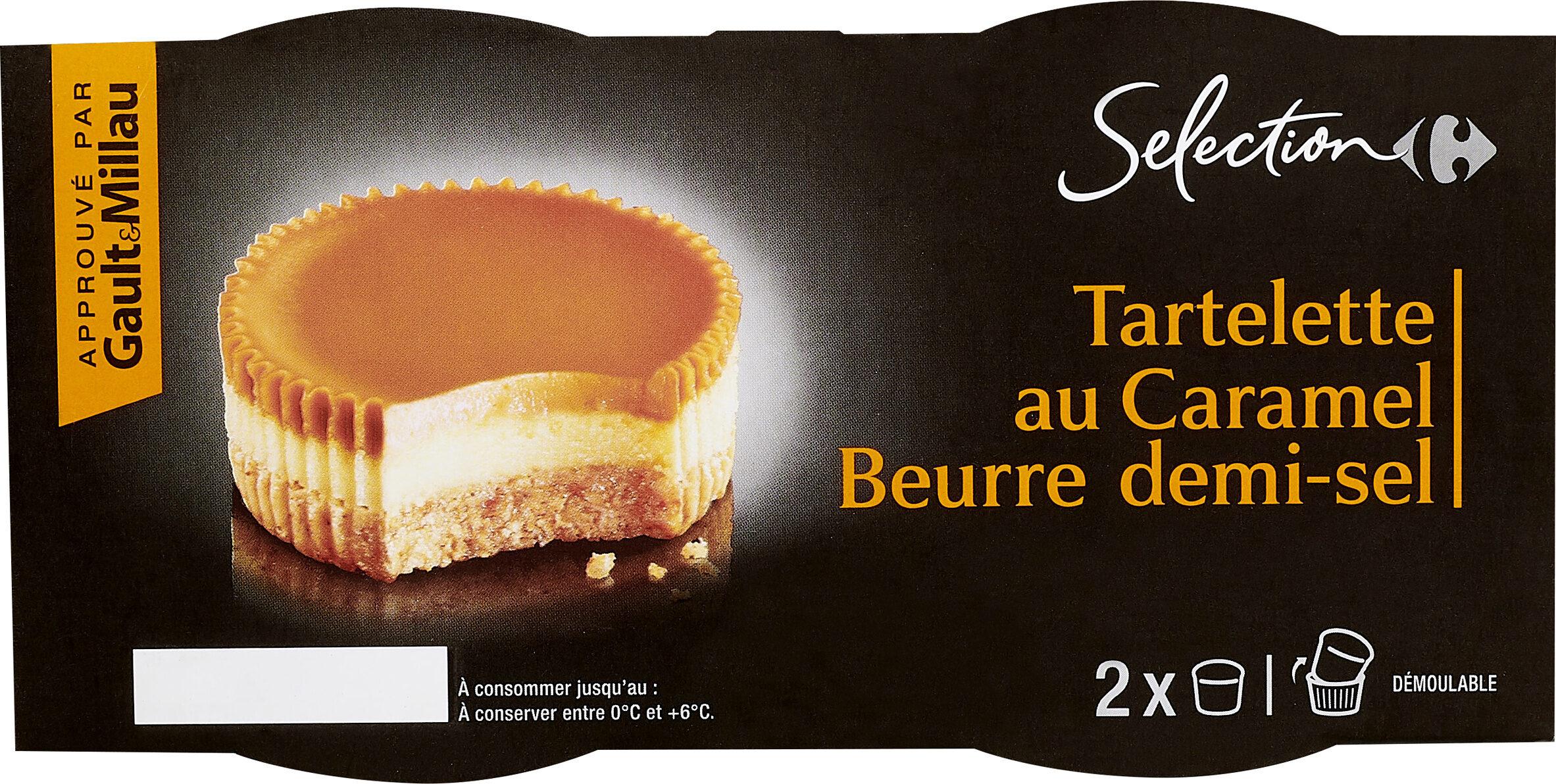 Tartelette au Caramel beurre salé - Product - fr
