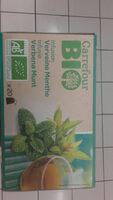 Infusion Verveine Menthe Bio Carrefour - Informations nutritionnelles - fr
