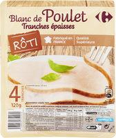 Blanc de pouletTranches épaisses - Product - fr