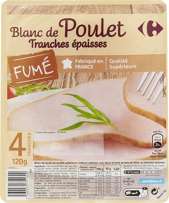Blanc de poulet Tranches épaisses - Product