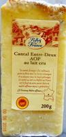 Cantal Entre-Deux, au lait cru - Produit