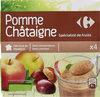 Pomme  Châtaigne  Spécialité de fruits - Product