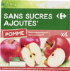 Sans sucres ajoutés * - Produit