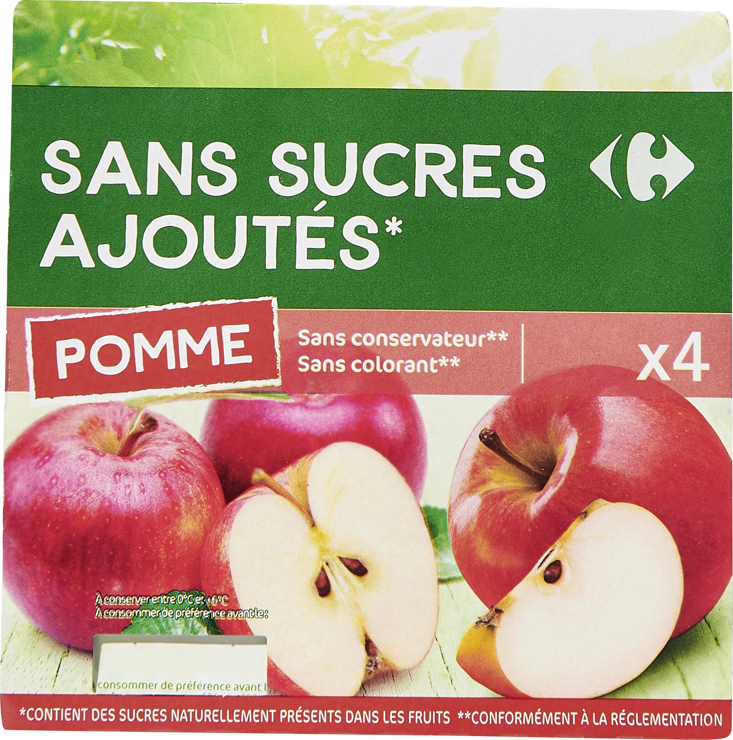 Sans sucres ajoutés * - Prodotto - fr