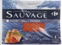 Saumon rouge du pacifique fumé sauvage - Product