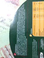 Pizza jambon emmental ricotta - Ingredients