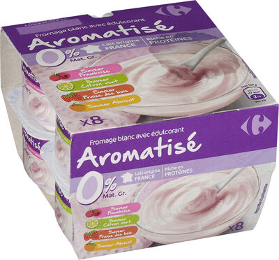 Fromage blanc Aromatisé aux fruits - Product - fr