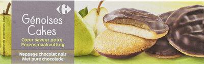 Génoises poire - Product - fr