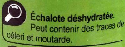 Échalote - Ingredients