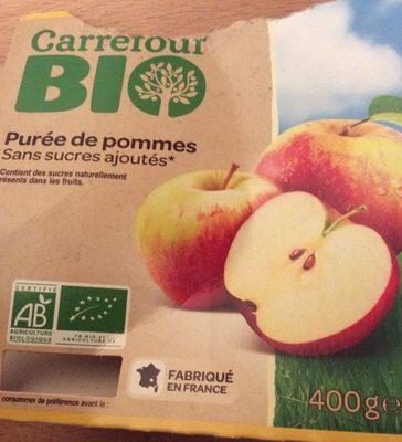 Compote de pomme bio - Produit