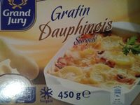 Gratin dauphinois surgelé - Produit