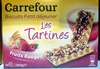 Les Tartines fruits rouges - Produit