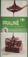 Praline chocolat dessert - Product - fr