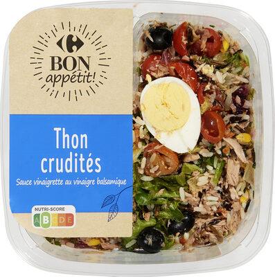 Thon Crudités, Les classiques - Produit - fr