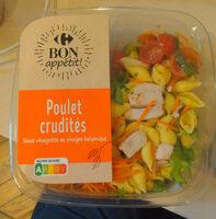 Poulet Crudités - Produit - fr