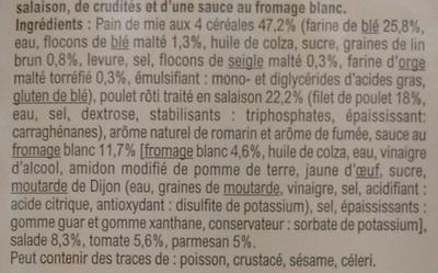Poulet Rôti sauce Caesar - Ingrédients - fr
