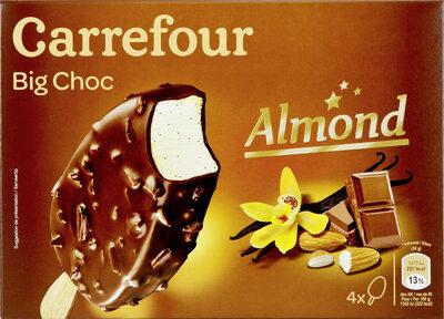 Chocolat au lait Amandes - Produit - fr