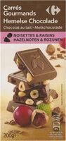 Carrés gourmands chocolat au lait - 产品 - fr