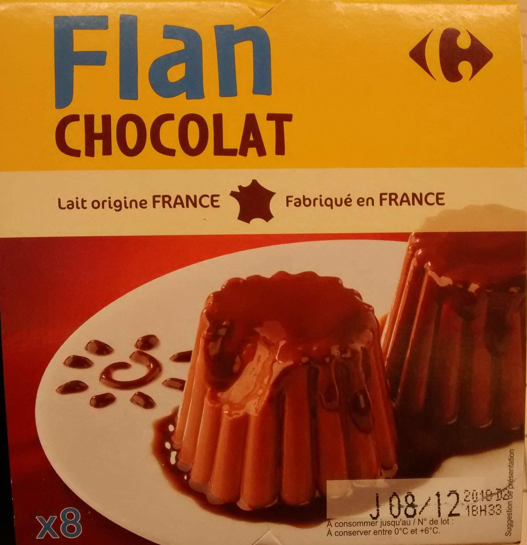 Flan Chocolat Carrefour Kids 800g 8 X 100g