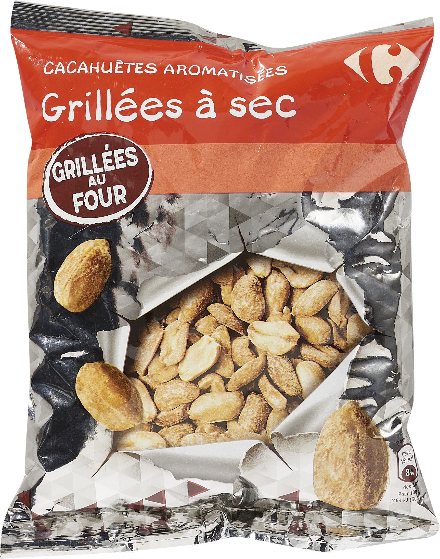 Cacahuètes aromatisées grillées à sec - Produit - fr
