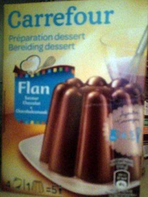 Flan entremets saveur chocolat - Product