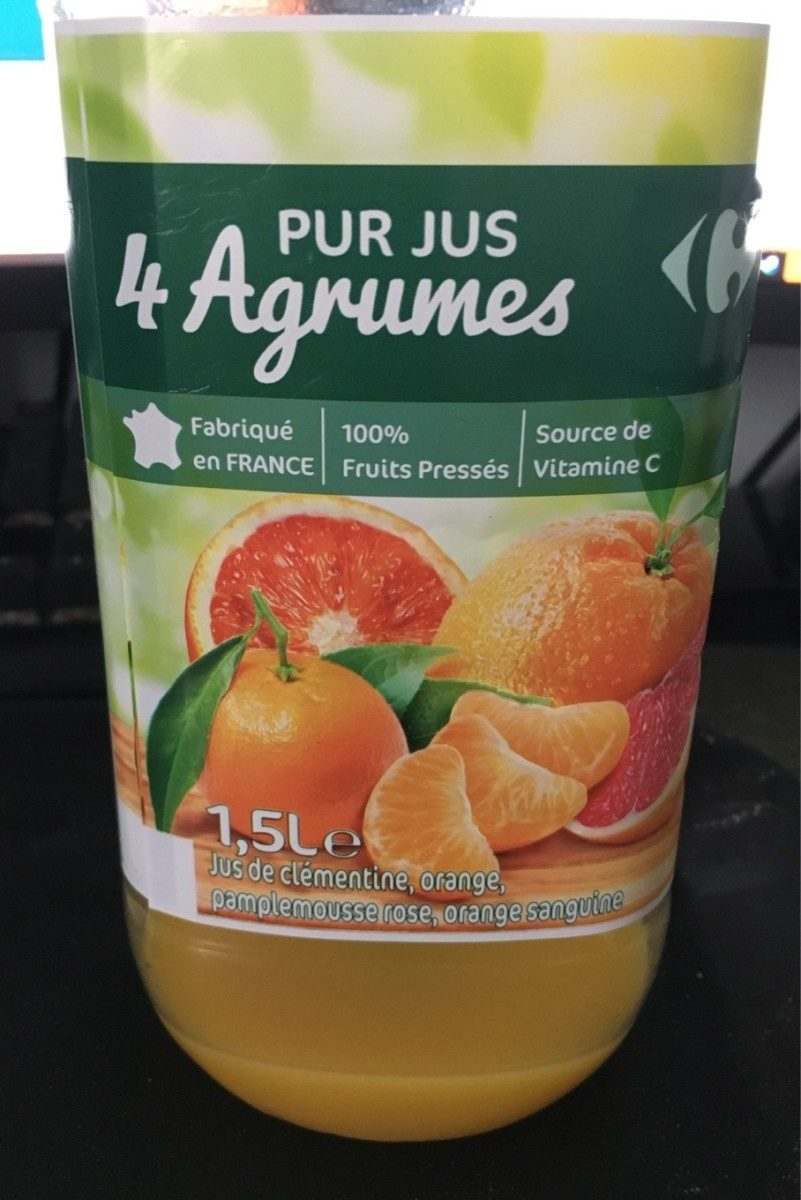 Pur jus 4 Agrumes - Product