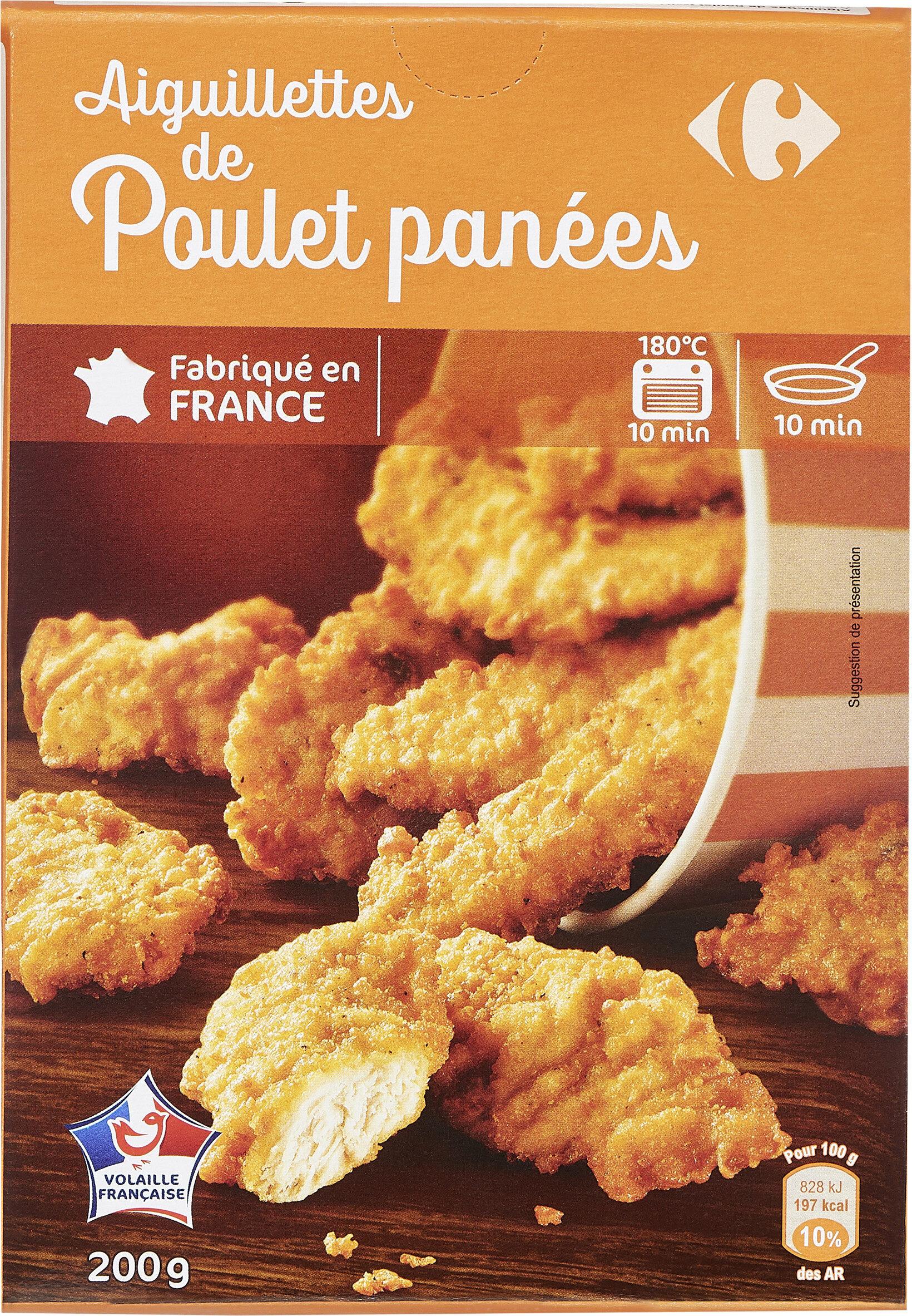 Aiguillettes de poulet panées - Produit - fr