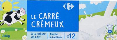 Le carré crémeux - Produit