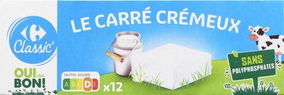 Le carré crémeux - Produit - fr