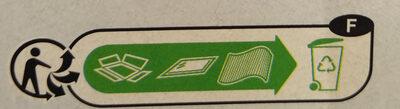 Le carré crémeux - Instruction de recyclage et/ou informations d'emballage - fr